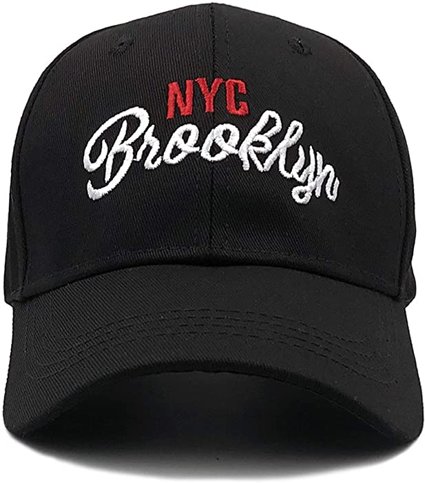 100% Cotton NYC Baseball Cap Women Casual hat for Men Casquette Homme  Letter Embroidery Gorras Dad hat 0bf80a6440