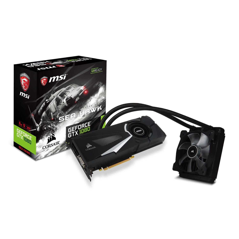MSI GTX 1080 Sea Hawk X NVIDIA GeForce GTX 1080 8GB ...