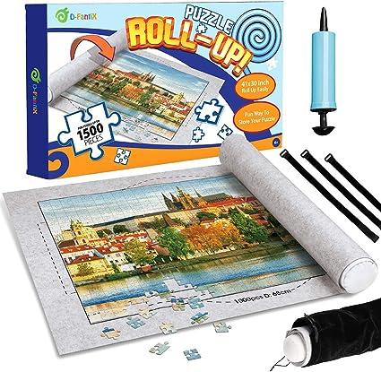Amazon.com: D-FantiX - Puzle enrollable para rompecabezas ...