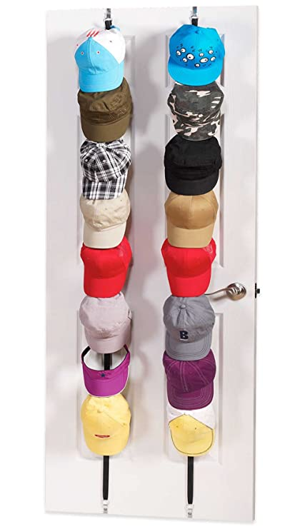 Hat Rack, Cap Rack Baseball Cap Organizer Hat Storage, Hold 10 Caps For  Baseball