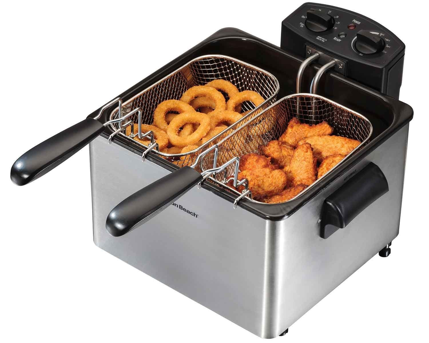 Hamilton Beach Professional-Style Electric Deep Fryer, 12-Cup Oil Capacity (35034) (2)