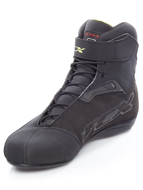 Motorradstiefel kurz Rush Waterproof Stiefel Leder//Textil TCX Motorradschuhe Sportler Unisex Sommer