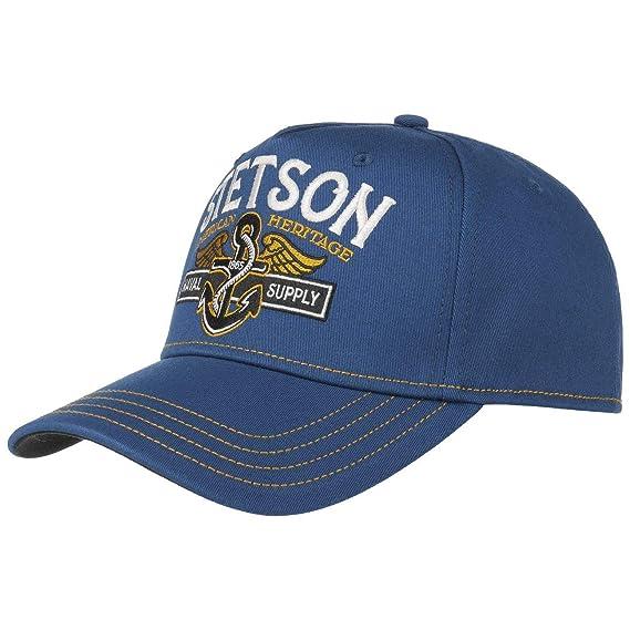 Stetson Naval Supply Cap Baseball Fitted (M (56-57 cm) - Blue ... d61d3d33c9f9