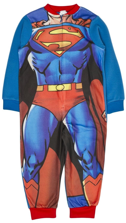 Boys Fleece Character Onesie Pyjamas Childrens All In One Pj's Size UK 1-10 Years Various