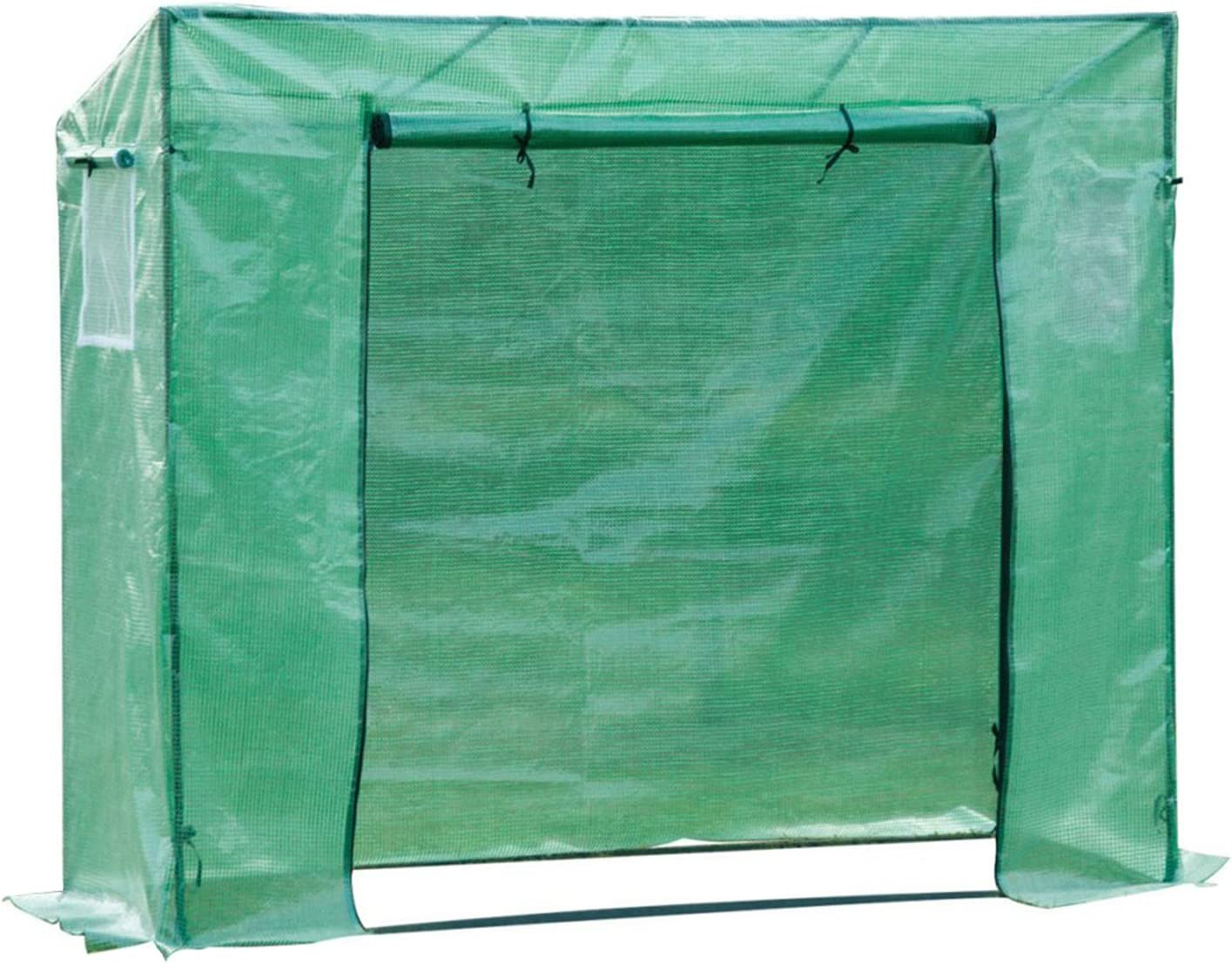 Outsunny Outdoor PVC and Steel Greenhouse Plant Cover with Zipper 100 x 50 x 150CM Green