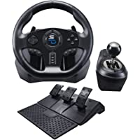 Superdrive GS850-X Drive Pro Spor Direksiyon Manuel Vites Kolu, 3 Pedallı ve Vites Kolu Xbox Seri X/S, PS4, Xbox One, PC…