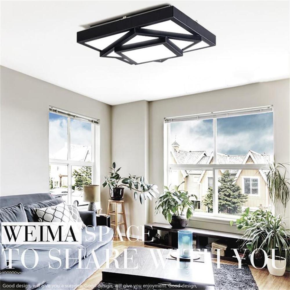 GBT Led Kreative Persönlichkeit Platz Wohnzimmer Wohnzimmer Wohnzimmer Schlafzimmer ModernRestaurant Decke,Weißlicht-40CM B076KF3GB6   Verrückter Preis  0f4306
