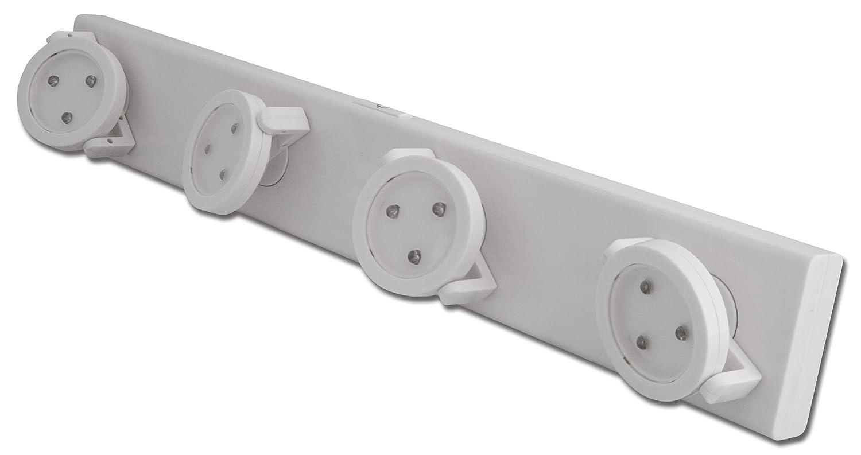 Rite Lite LPL704 Battery Operated LED Under Cabinet Track Light   Under  Counter Light Bars   Amazon.com