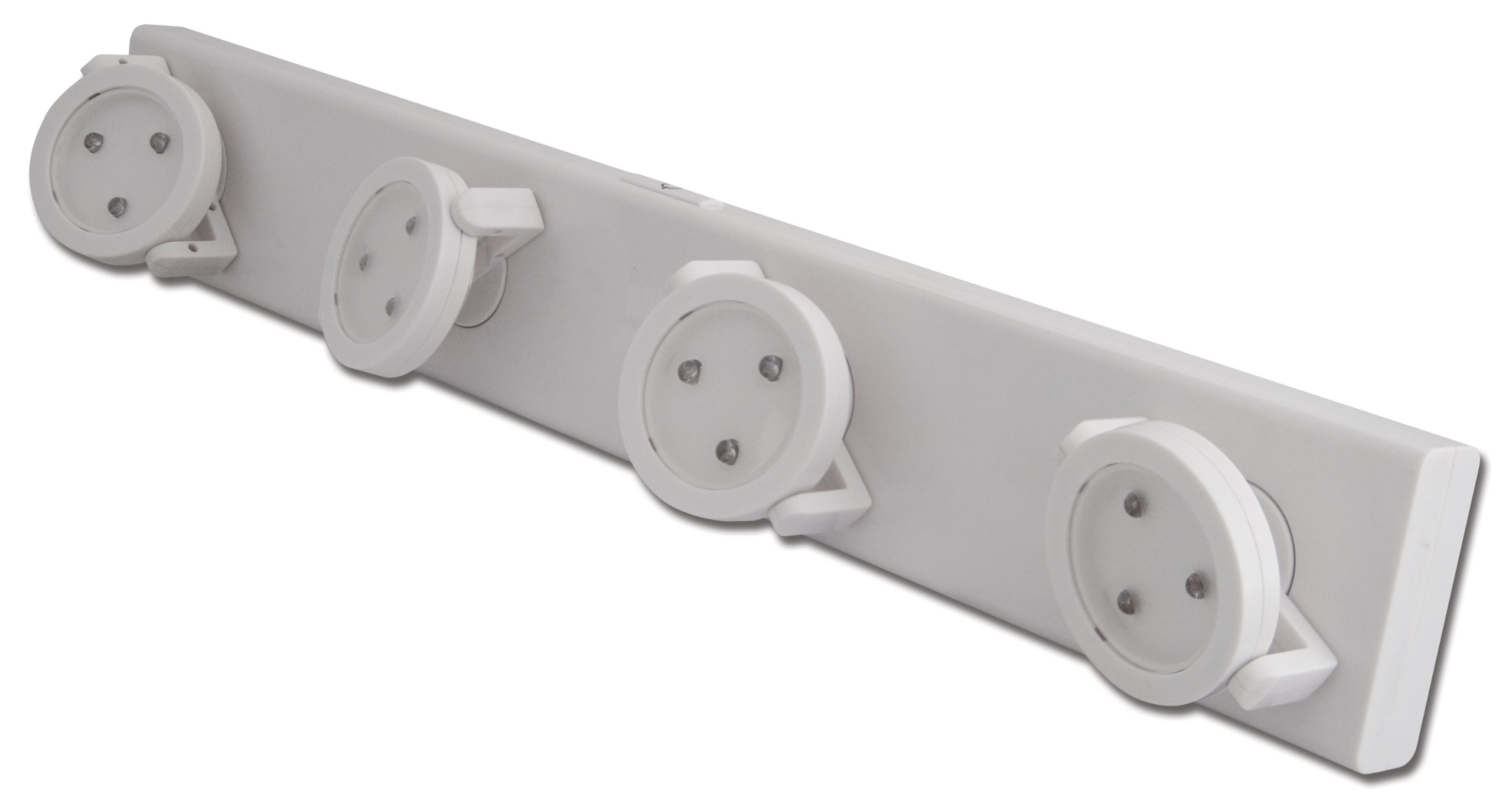 Rite Lite LPL704W Battery-Operated LED Under-Cabinet Track