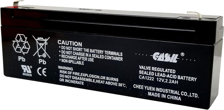 12V 2.2AH 2.3AH Sealed Lead Acid SLA AGM Replacement Battery