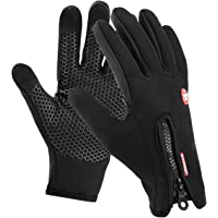 Motenik Thermal gloves,Winter Gloves,Cycling gloves for Men and Women,Touch Screen Gloves,Windproof Waterproof Outdoor Leisure Skiing Cycling Camping Hiking Gloves