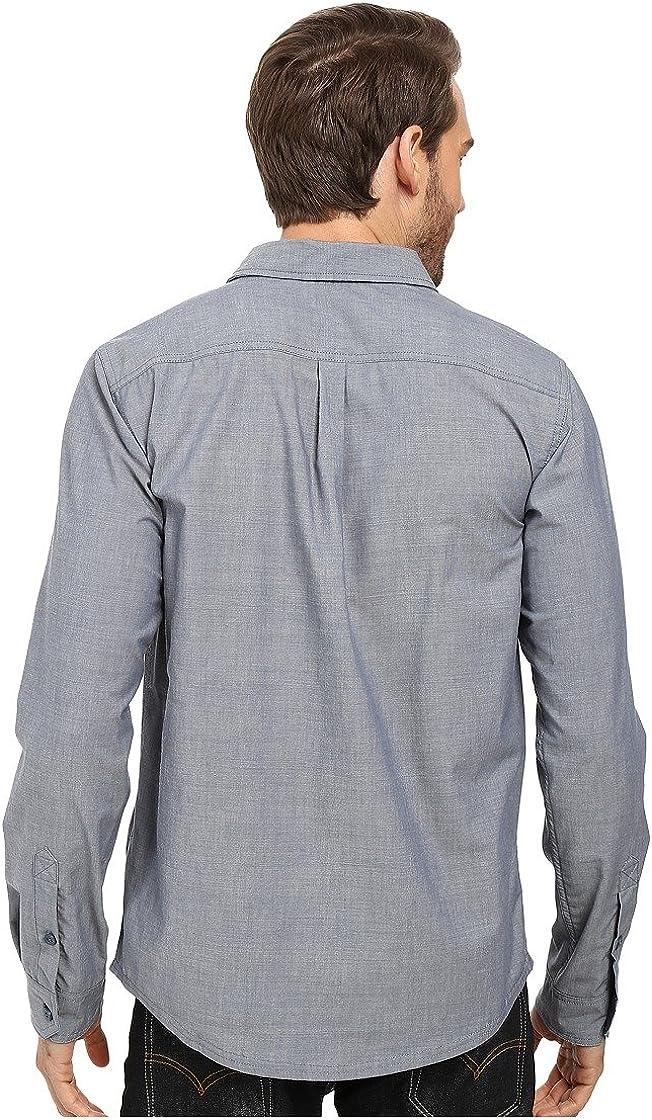 SmartWool Mens Summit County Chambray Long Sleeve Shirt