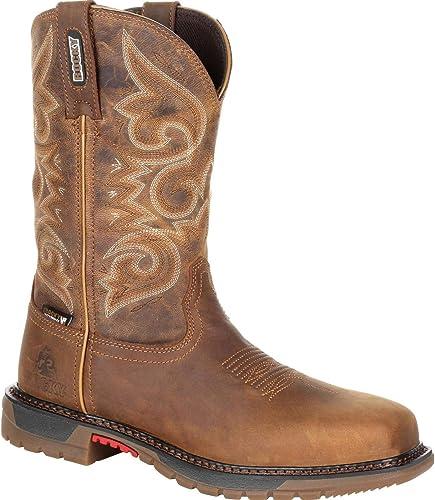 steel toed cowboy boots women - Rocky