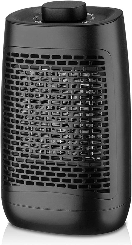 ZWOOS Calefactor Ventilador Portátil - Calentador Eléctrico Bajo Consumo - Oscilación de 60° - Calefacción Eléctrica 1200 W para Hogar, Oficina - Inodoro, Silencioso