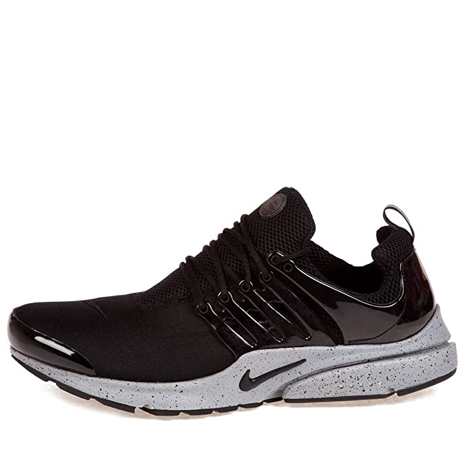 info for 6ef55 0af83 Amazon.com   Nike Mens Air Presto SP Genealogy Pack Black Black-Cement Grey  Fabric Running, Cross Trainers Size M (10-11)   Road Running
