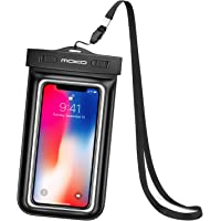 Universal Waterproof Case, MoKo Underwater Cellphone Dry Bag Pouch Compatible with iPhone X / 8 Plus / 8/7 / 6s Plus, Galaxy S9 / S9+, S8+ / S8, S7 Edge, S6, Honor, Moto, LG, Nexus and More