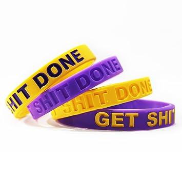 Inspirational pulseras de silicona pulseras de banda de goma ...