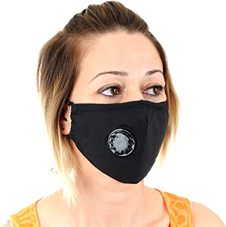Pollution For Smoke Reusable Air Allergy Filter Mask