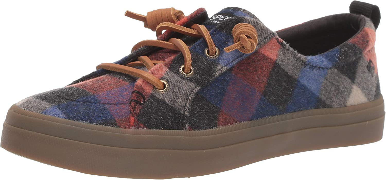 SPERRY Women's Crest Vibe Plaid Wool Sneaker