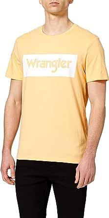 Wrangler Logo tee Camiseta para Hombre