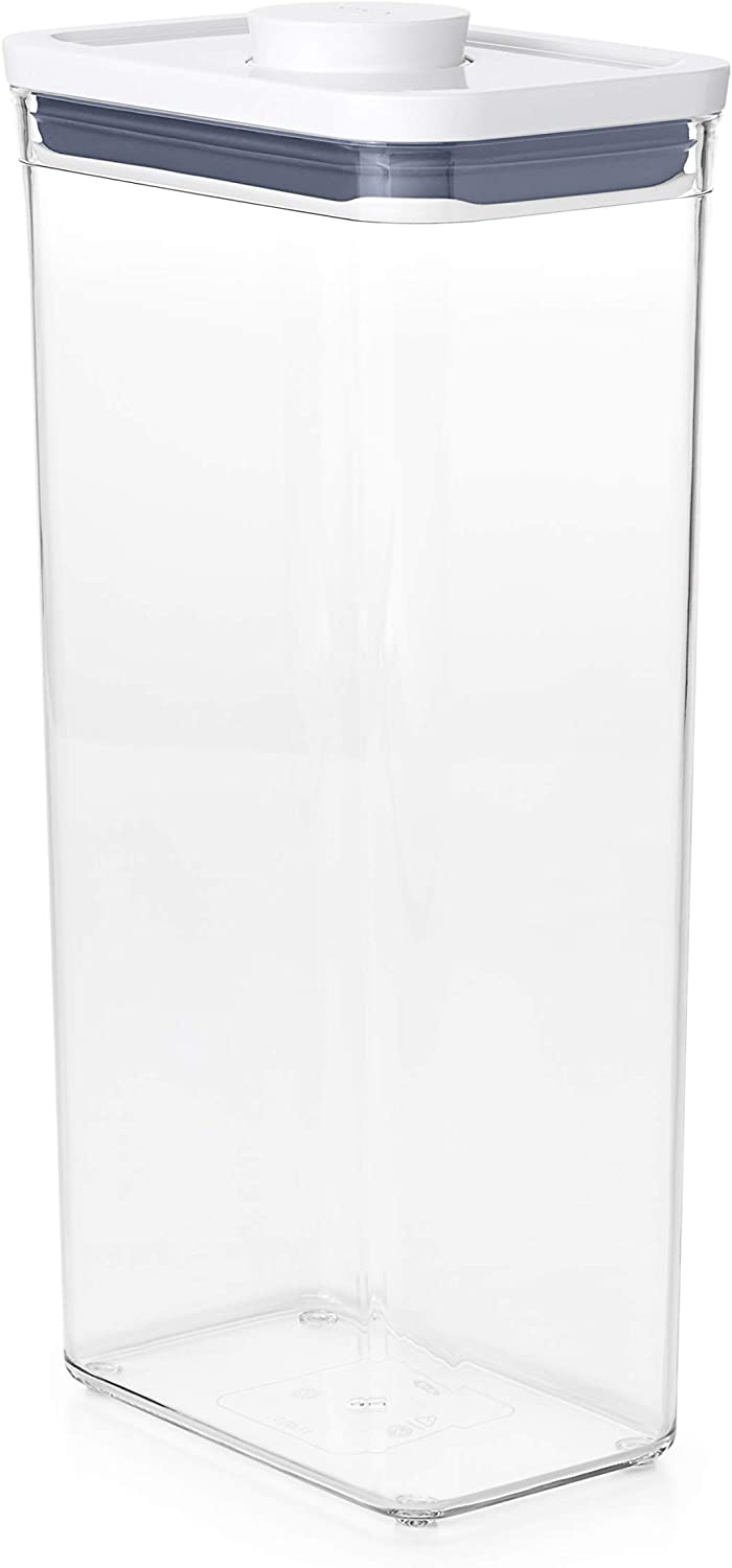 OXO 11234400MLNYKNEW Good Grips POP Container - Airtight Food Storage - 3.7 Qt for Cereal and More,Transparent