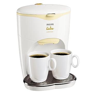 Philips Cucina Café Duo HD 7140/80, Crema, Blanco, 550 W,