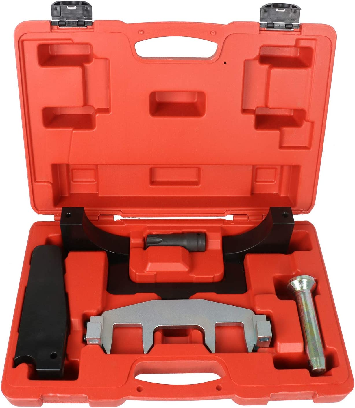 BELEY Engine Timing Tools Camshaft Alignment Timing Chain Fixture Locking Tool Kit for Mercedes Benz M271 C230 271 203