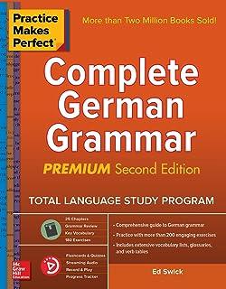 Amazon com: Practice Makes Perfect Complete German Grammar