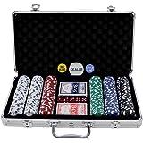 300 Piece Poker Chip Set in Aluminium Case