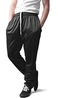 Sophicstreams Mens Polyester Track Pants with Zipped Pockets
