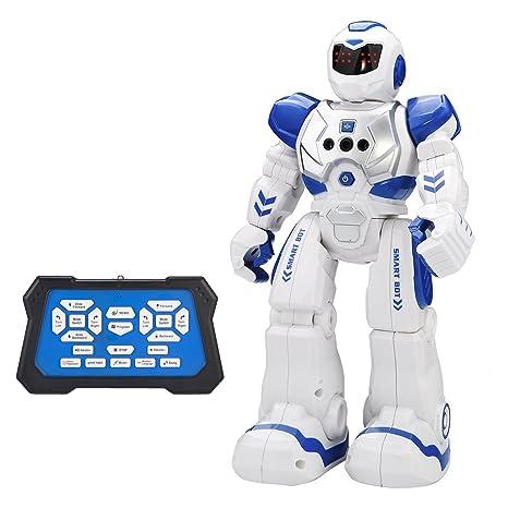 Amazon Com Remote Control Robot Kids Toys Chotop Rc Humanoid Robot