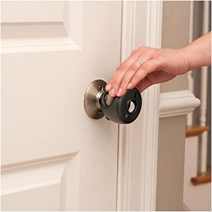 Genial Safety 1st Grip Nu0027 Twist Door Knob Decor Covers   Black ...