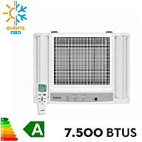 Ar condicionado janela 7500 BTUs/h Consul quente e frio eletrônico com painel dispensa moldura - 220V
