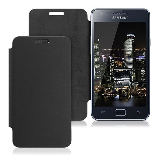 569 opinioni per Custodia protettiva pratica e chic FLIP COVER per Samsung Galaxy S2 i9100 in