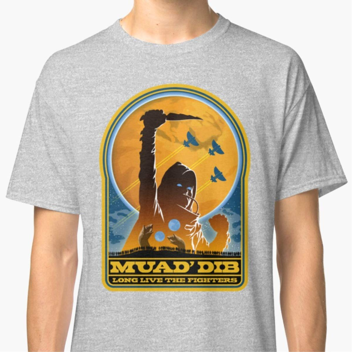 Unisex T-Shirt Dune MUAD DIB Shirts For Men Women Mon Cool Neck