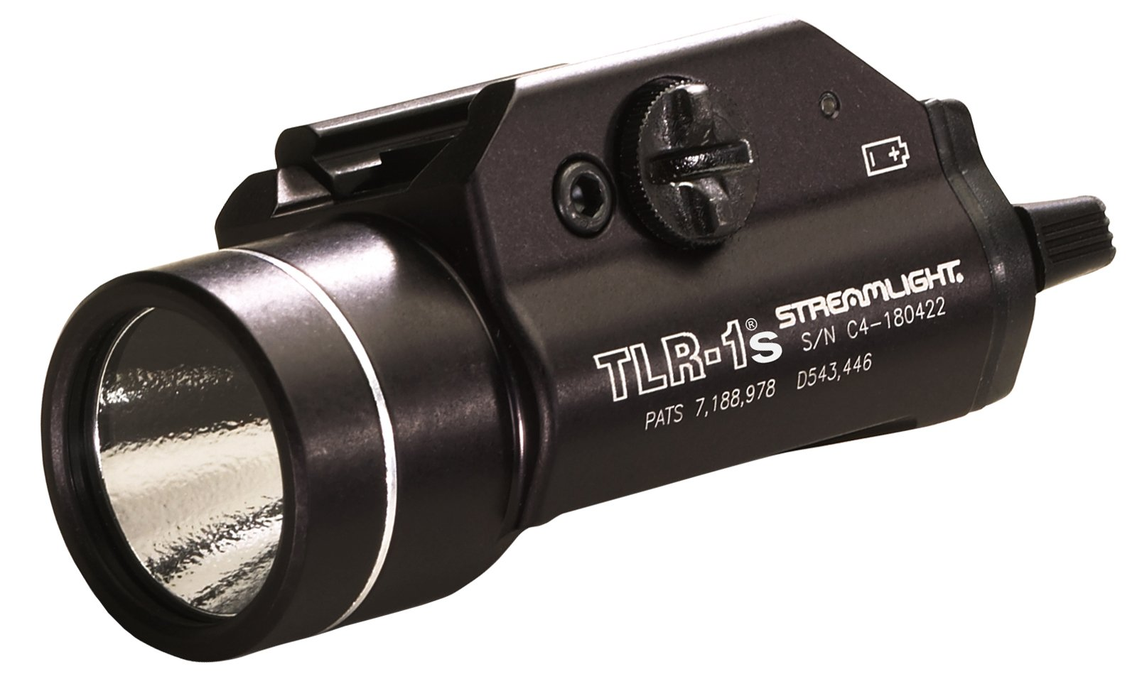 Streamlight 69210 TLR-1s LED Rail Mounted Flashlight with Strobe Function and Rail Locating Keys by Streamlight