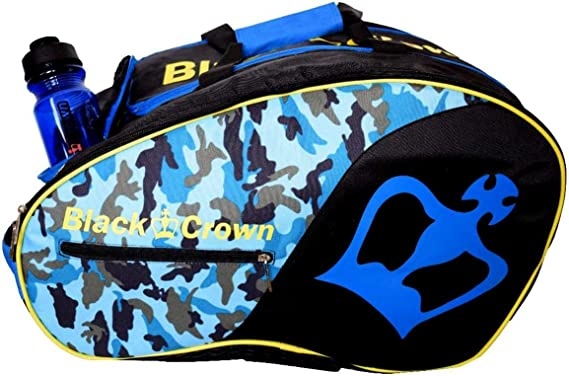 Paletero Tron Azul Militar   Bolsa de Pádel   Black Crown: Amazon ...