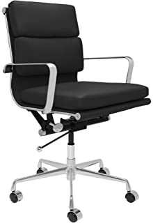 SOHO Soft Pad Management Chair (Black)