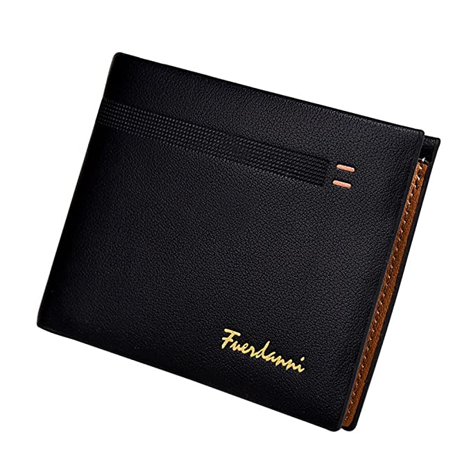 Short Designer Famous Brand Leather Man Wallets Male Coin Pocket Carteras Purses Wallet for Men
