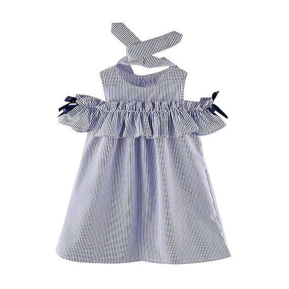 K Youth Vestidos Niña Verano Vestidos Para Niña Y Diademas Vestidos A Rayas Ropa Niñas Vestido Infantil Fiesta Niñas 2018 Ofertas Para 2 7 Años