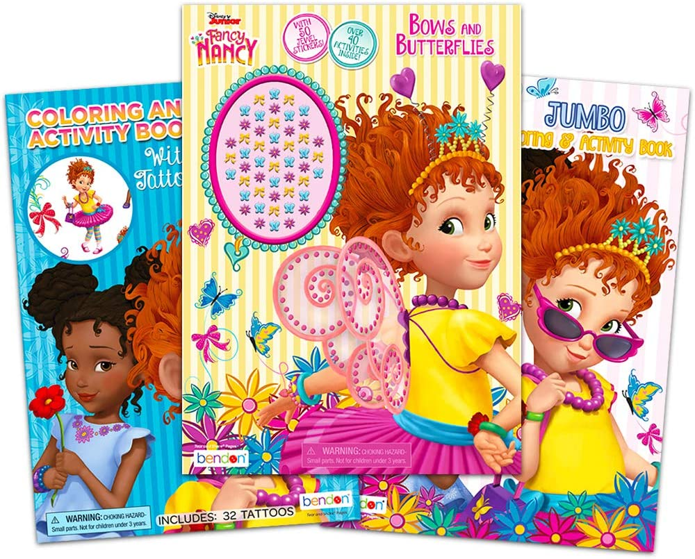 How to Draw Disney Junior's Fancy Nancy | Fancy Nancy Coloring ... | 805x1000