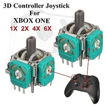 Veena 2Pcs Replacement 3D Controller Joystick Axis Analog