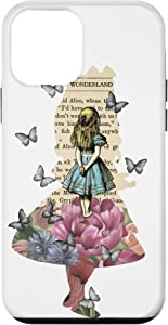 iPhone 12 mini Alice In Wonderland Magical Garden - Vintage Book Case