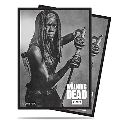 """Ultra Pro The Walking Dead """"Michonne"""" Standard Deck Protector Sleeves for Magic & Pokemon (50 ct): Toys & Games"""