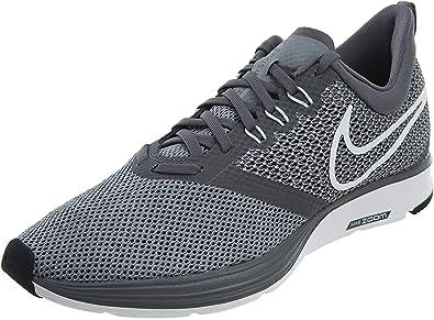 Nike Zoom Strike, Zapatillas de Running para Hombre, Gris (Gr/Weiß Gr/Weiß), 40.5 EU: Nike: Amazon.es: Zapatos y complementos