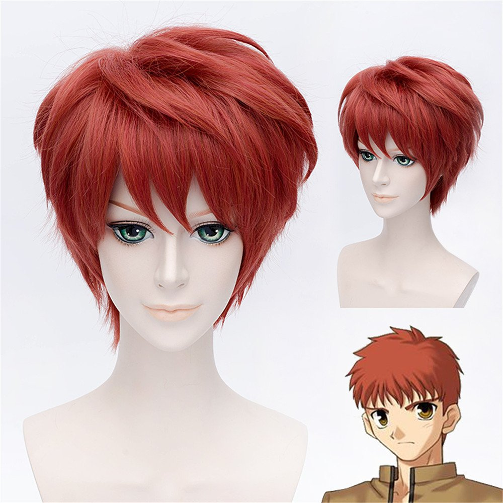 LanTing Cosplay Peluca Fate Stay Night Zero Tohsaka Rin BROWN LONG WAVY CLIP Cosplay Party Fashion Anime Human Costume Full wigs Synthetic Cabello Heat ...