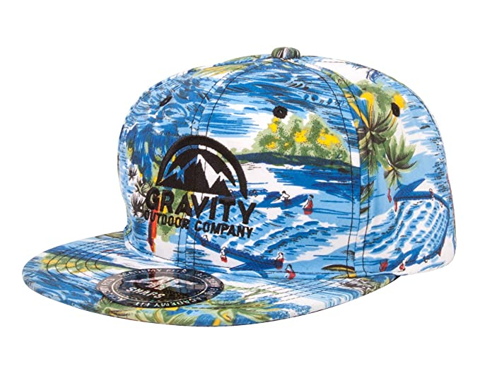 ace151838d58f Gravity Outdoor Tropical Adjustable Snapback Hat at Amazon Men s ...