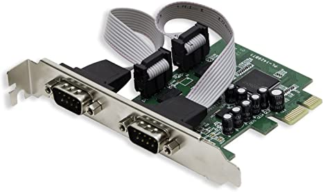 Amazon.com: SYBA – Tarjeta PCI-Express RS-232 Serial 4-Port ...