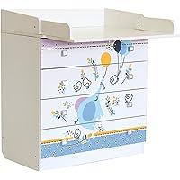 Polini Kids Baby cambiador cambiador simple 1580con varios
