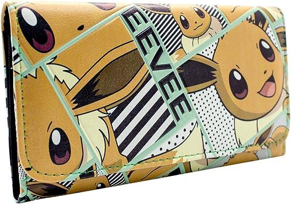 Cartera de Nintendo Pokemon Eevee feliz naranja: Amazon.es: Equipaje